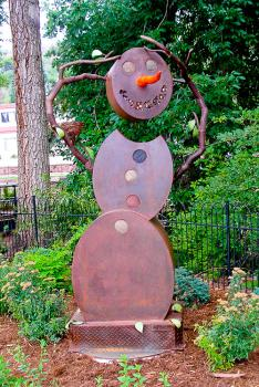 """Rusty, the Snowman"" by Doyle Svenby"