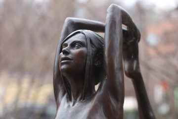 """""""Dancer"""" sculpture by Michael Patrick Garman in Manitou Springs, CO   Photo by Adam Williams/Humanitou"""